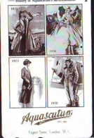Télécarte Japon * ANGLETERRE * ENGLAND * MODE ANGLAISE * AQUASCUTUM Of LONDON  (408) GREAT BRITAIN * Phonecard Japan - Mode
