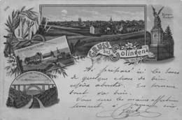 CPA ALLEMAGNE  GRUUS AUSS SOLINGEN 1903 - Solingen