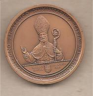 Reggio Emilia - XXXII Convegno Città Del Tricolore Medaglia In Bronzo - Millenario Basilica San Prospero - 1997 - Italia