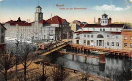 PIE-GIR-19-483 : MEMEL. KLAIPEDA. PARTIE EN DER BÖRSENBRÜCKE. - Lituanie