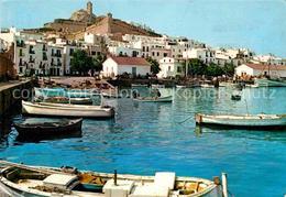 72647506 Ibiza Islas Baleares Detalle Del Puerto Catedral Ibiza - Spanien
