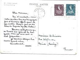 Afrique-KENYA-(Nairobi)-Une Vue Du Bain Des Elephants -PUB.Collection AMORA-TIMBRE-Obliteration-1960 - Kenya
