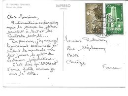Afrique-SAHARA ESPAGNOL-*Retour De Pêche -PUB.Collection AMORA-TIMBRE-Obliteration-1960 - Sahara Occidental