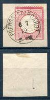 Deutsches Reich Michel-Nr. 4 Vollstempel Auf Briefstück - Geprüft - Gebraucht