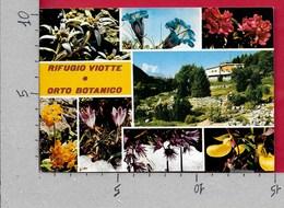 CARTOLINA VG ITALIA - Rifugio VIOTTE E Orto Botanico - Vedutine Multivue - 10 X 15 - ANN. 1987 - Trento