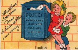 CARTE à SYSTEME De TOULON - Meilleur Souvenir. - Toulon