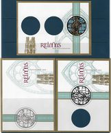 France Documents La Poste Puzzle Complet Cathédrale De Reims Neufs ** - Document - Postdokumente