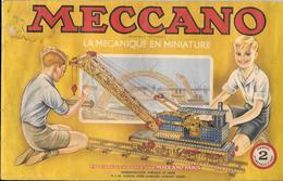 MECCANO - MANUEL DE CONSTRUCTION N° 2   1951-1952 - Illustration G. AROU 1947 - 26 PAGES - Meccano