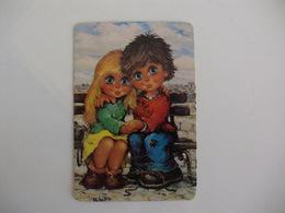 Michel Thomas Illustration Portugal  Portuguese Pocket Calendar 1986 - Calendriers