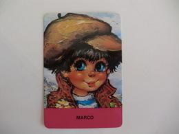 Michel Thomas Illustration Marco Portugal  Portuguese Pocket Calendar 1987 - Calendriers