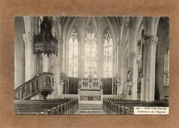 CPA - PETITE-RAON (88) - Aspect De L'intérieur De L'Eglise En 1913 - France