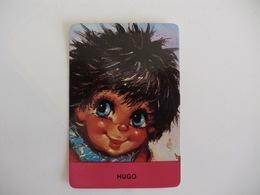 Michel Thomas Illustration Hugo Portugal  Portuguese Pocket Calendar 1987 - Calendriers