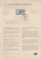 """Gendarmerie Nationale  """" PARIS """" 1970 - Documents Of Postal Services"""
