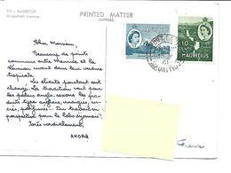 Afrique-MAURITIUS-MAURICE-Grapelfruit Garden -PUB.Collection AMORA-TIMBRE-Obliteration-1961 - Maurice