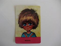 Michel Thomas Illustration Miguel Portugal  Portuguese Pocket Calendar 1987 - Calendriers