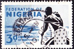 Nigeria - Unabhängigkeit (MiNr: 89) 1960 - Gest Used Obl - Nigeria (1961-...)