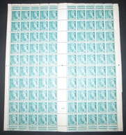 France 1942 Neuf** N° 549 TYPE MERCURE FEUILLE COMPLETE - Feuilles Complètes
