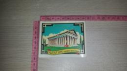 SCO-8251 DECALCOMANIA PAESTUM TEMPIO DI NETTUNO - Stickers