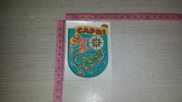 SCO-8252 DECALCOMANIA CAPRI SIRENA ROSA DEI VENTI - Stickers