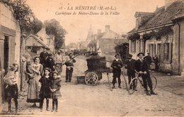 CPA De LA  MENITRE - Carrefour De Notre-Dame - Un Pressoir. - Other Municipalities