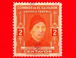 EL SALVADOR - Usato - 1947 - Dr. Crisanto Salazar (1841-1842), Primo Rettore Dell'Università Nazionale - 2 - El Salvador