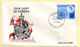 Europa 1966, FDC. Gibraltar.  C à Date Du 15/11/1966 - 1962
