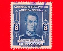 EL SALVADOR - Usato - 1947 - Ramon Belloso (1810-1858), Generale - 8 - El Salvador
