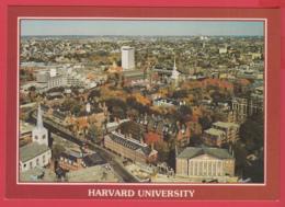 HARVARD UNIVERSITY - Cambridge Massachusetts -AERIAL VIEW** 2 SCANS - Boston