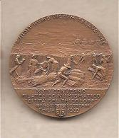 Reggio Emilia - XXIV Convegno Città Del Tricolore Medaglia In Bronzo -  Agronomo E Botanico Filippo Re - 1989 - Italia