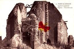 PONT-A-VENDIN (après La Guerre) - L'Eglise - Francia