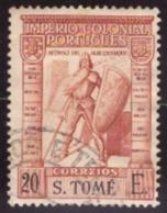SãoTomé E Príncipe - 1938 Império Colonial Português - Inscrição S. TOMÉ # 20$00 - St. Thomas & Prince