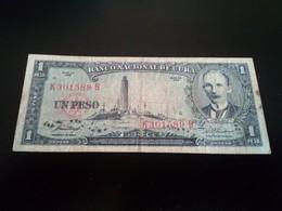 CUBA 1 Peso  - Un Peso 1958 - Cuba