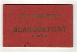 33 GIRONDE - BLANQUEFORT Carnet Complet De L'Ecole D'Agriculture (voir Descriptif) - Blanquefort