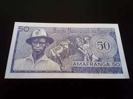 Rwanda 50 Amafranga 1976 UNC - Rwanda