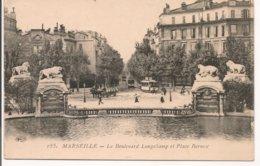 L200A_332 - Marseille - 185 Le Boulevard Longchamp Et Place Bernex - Quartier De La Gare, Belle De Mai, Plombières