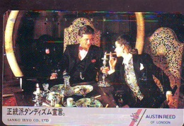 Télécarte Japon * ANGLETERRE * ENGLAND * MODE ANGLAISE * AUSTIN REED Of LONDON (410) GREAT BRITAIN * Phonecard Japan - Fashion