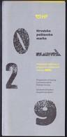 Croatia / Programme Of Issuing Commemorative Postage Stamps 2019 / Prospectus, Leaflet, Brochure - Croatia