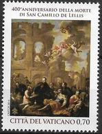 2014 Vatikan Mi. 1818 **MNH 400. Todestag Des Hl. Kamillus Von Lellis - Vaticano (Ciudad Del)
