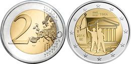 """BÉLGICA  2€ 2.018  2018  Bimetálica """"50 AÑOS DE MAYO 1968""""  SC/UNC T-DL-12.254 - Bélgica"""