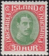 IJsland    .   Yvert     .   149A          .        *     .       Omgebruikt Met Plakker    .   /    .   Mint-hinged - 1918-1944 Autonoom Bestuur