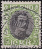 IJsland    .   Yvert       .   153 OF        .    O     .    Gebruikt     .   /    .   Cancelled - 1918-1944 Administration Autonome