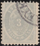 IJsland    .   Yvert       .    2  .  Stempel ?  ( 2 Scans )      .    O     .    Gebruikt     .   /    .   Cancelled - 1873-1918 Dänische Abhängigkeit