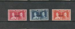 Niue, 1937, SG 72 - 74, Mint Hinged - Niue