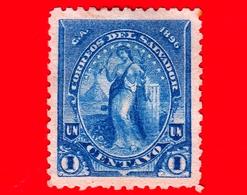 EL SALVADOR - Usato - 1896 - Serie Pace - Peace - 1 C. - El Salvador