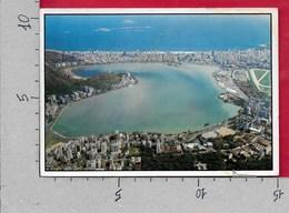 CARTOLINA VG BRASILE - RIO DE JANEIRO - Vista Panoramica De Lagoa Rodrigo De Freitas - 10 X 15 - ANN. 1991 - Rio De Janeiro