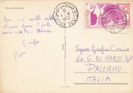 TUNISIA / ITALIA  -  Viaggiata _ 1972 - Tunisia (1956-...)
