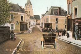 Circuit De La Sarthe, 1906 - à Travers Connerré - Autres