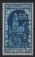 1934 Fiume P.o. MNH - 1900-44 Vittorio Emanuele III