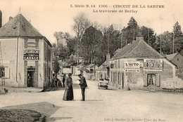 Circuit De La Sarthe, 1906 - La Traversée De Berfay - Motorsport