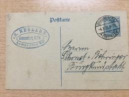 K6 Deutsches Reich Ganzsache Stationery Entier Postal P 120AI Von Braunsberg Ostpreussen Nach Burgkundstadt - Deutschland